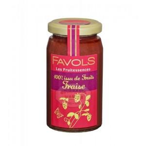 Confiture 100% fraise - Favols 250g