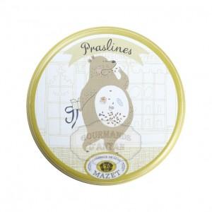 Praslines boite Ours - Mazet 65g