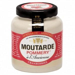 Moutarde aux Cranberries Pommery® - Les Assaisonnements Briards 100g