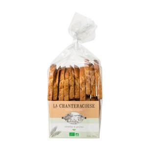 Biscottes BIO artisanales Céréales et Graines – La Chanteracoise.